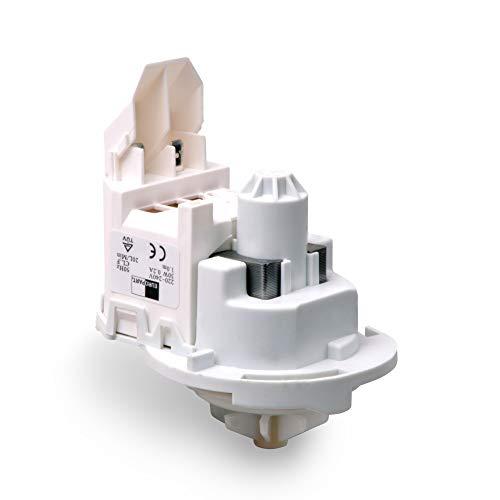 VIOKS 481236018503 - Pompa per acqua di scarico per lavastoviglie, adatta per lavastoviglie Siemens Bosch 00165261 165261 00165262 426460 Whirlpool