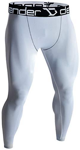 Defender Men's Sports Compression Pants Under Jerseys Tights Shorts Fits Basketball WH_M