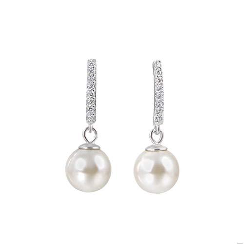 Accessoires 925 sterling zilver zirkonia oorbellen vrouwen mode retro oorbellen oorbellen sieraden