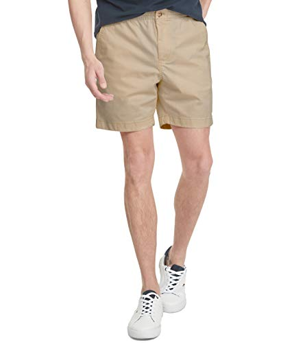 Tommy Hilfiger Men's Stretch Waistband Shorts, Mallet, LG