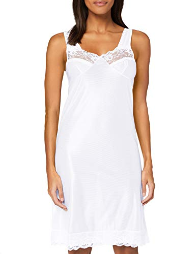 Marlon Freya Slip Complet, Blanc (Blanc Blanc), 40 Femme