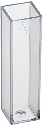 neoLab E-1641 Einmal-Küvetten aus PS, Makro, 2,5-4,5 mL (100-er Pack)