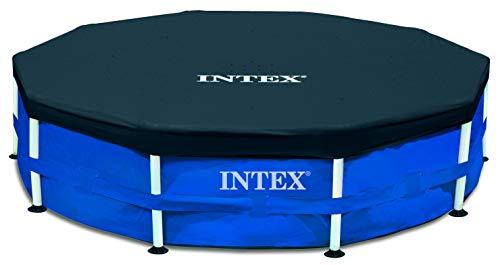 Intex 28030 - Manta de protección para piscina tubular (diámetro 3,05 m)