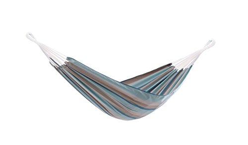 Vivere Katoen Enkele Braziliaanse Hangmat Sunbrella 366x137x5 cm Gateway Mist