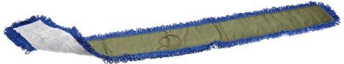 Impact LFCB72 Fringe Dry/Dust Mop Microfiber Pad, Canvas Back, 72″ Length, Gray/Gray (2 Bags of 12)