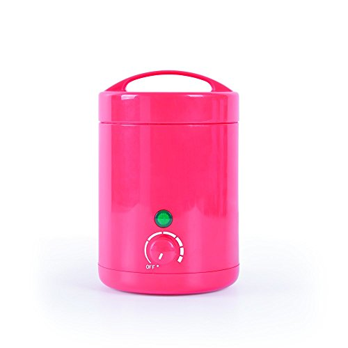 Perfect Beauty Mini Wax Colour - Fundidor de cera mini profesional 125gr, color rojo