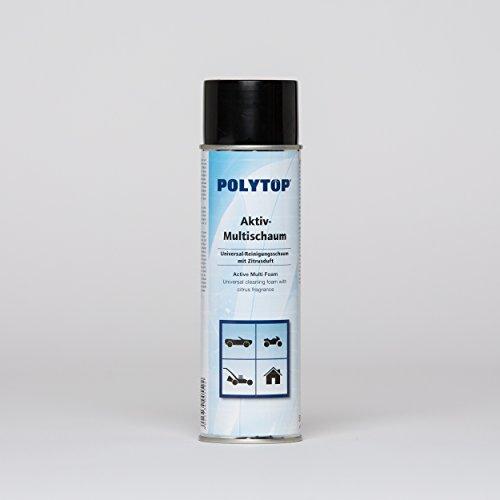 Polytop Attivo Universale Spray Multi Schiuma Schiuma Detergente PKW pulitura Profumo di agrumi 500ML Top