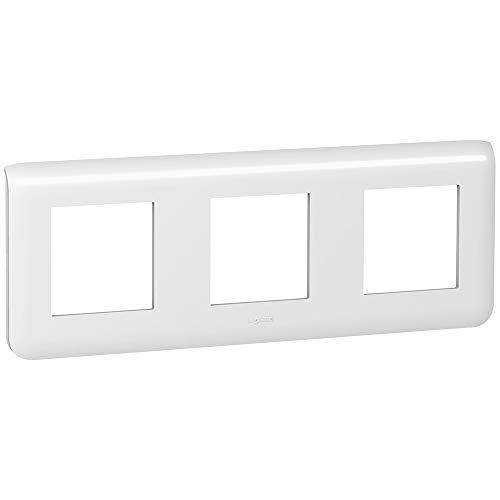 Placa mosaic, 3x2 módulos, horizontal, blanco (Legrand 078806)