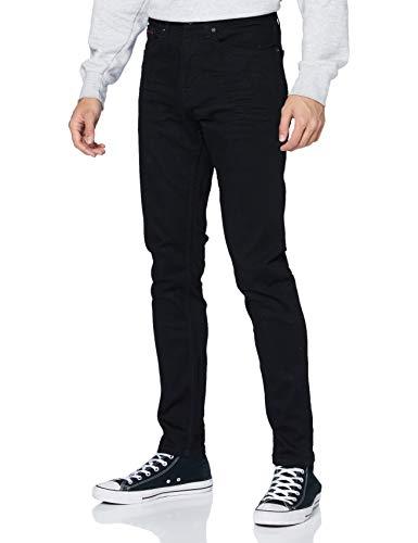 Tommy Hilfiger Herren Austin Slim Tapered NBKS Jeans, Schwarz, W32 / L32
