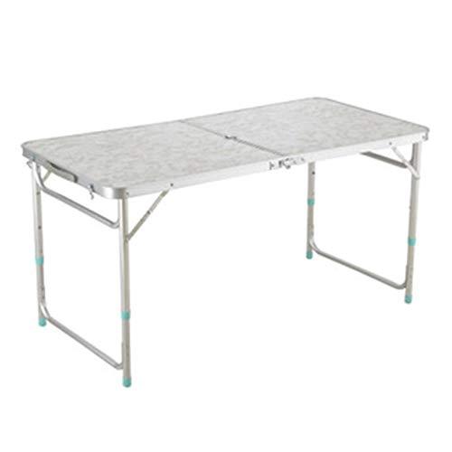 NLRHH Mesa plegable al aire libre para camping, aleación de aluminio, mesa de picnic impermeable, ultraligera y duradera, mesa plegable para picnic (color B), A (color: B)