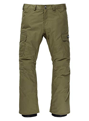 Burton Cargo Pant - Regular Fit Pantalon de Snowboard Homme Martini Olive FR: L (Taille Fabricant: L)