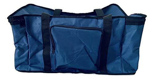 Large Navy RC 1/10 Car Bag for Trucks, Shortcourse, Buggies. Multipocket RC Bag with Pockets for Accessories.