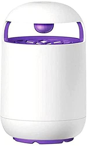 Lámpara Eléctrica USB para Matar Mosquitos De 10W, Bug Muggen Killer Anti Mosquito Trap Fly Lámpara Repelente Ultravioleta Al Aire Libre para Acampar, Dormitorio, Cocina, Oficina