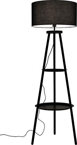 Kare Design Lampadaire Tripod Steps 155cm Noir