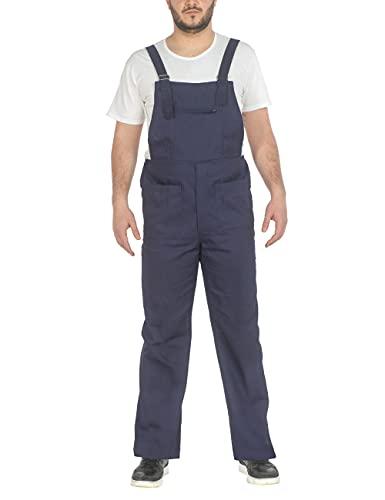 C.B.F. Balducci Group Salopette da Lavoro Uomo Donna Multitasche (Blu, L)