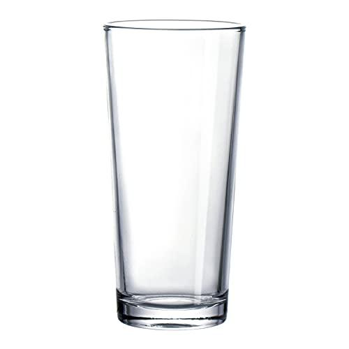 Set 24 vasos de vidrio resistente CUBATA T 27CL ARC 67X140