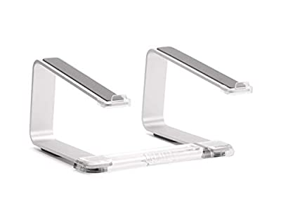 Griffin Elevator Computer Laptop Stand - Silver/Clear