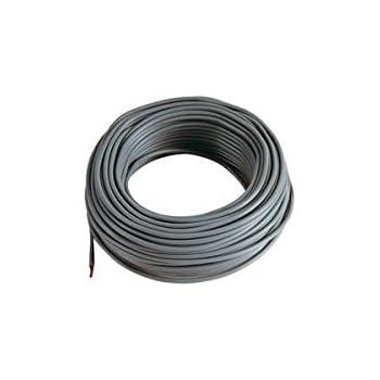 5 m Cable rouge 4mm2 pour cablage des syst/èmes /énerg/étiques