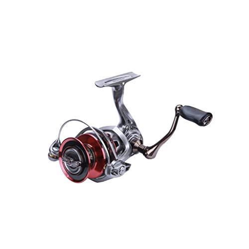 TJLSS Full Metal Principal inconsútil línea de Pesca Spinning Wheel Spinning Manos Intercambiables Plegable Rueda de Pesca