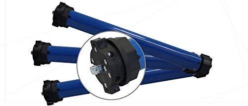 h Elektromechanischer Rolladenmotor (SW60 | 40 Nm | bis 90 kg) mit mechanischen Endabschaltern für 60 mm Achtkantwelle Rollladenantrieb Rohrmotor (1 ST)