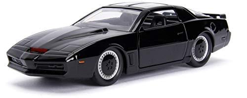 Jada 99799 - 1982 Pontiac Firebird K.I.T.T. Knightrider, zwart, 1:32 Die Cast