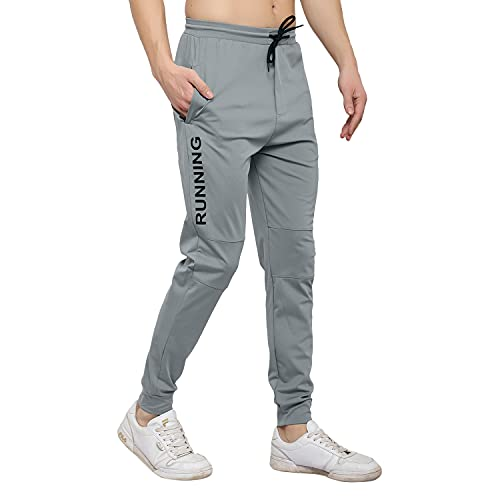 ENDEAVOUR WEAR Grey Men's Lycra Stretchable Regular Fit Joggers Track Pant Lower Payjama …