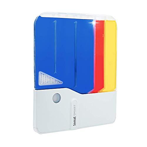 Somat Smart Home Starter-Kit, All-In-1 Geschirrspülreiniger, bis zu 34 Spülgängen, automatische Dosierung mit Sensoren Technologie und Smartphone App