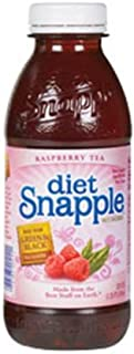 Snapple Diet Raspberry Tea, 20-Ounce Bottles (Pack of 24)