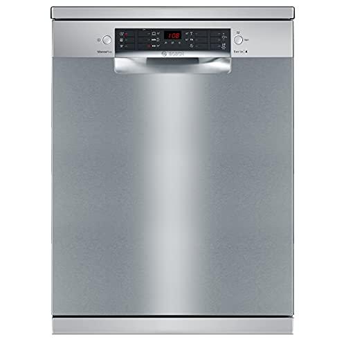 Bosch 14 Place Settings Dishwasher (SMS46KI03I, Silver Inox)