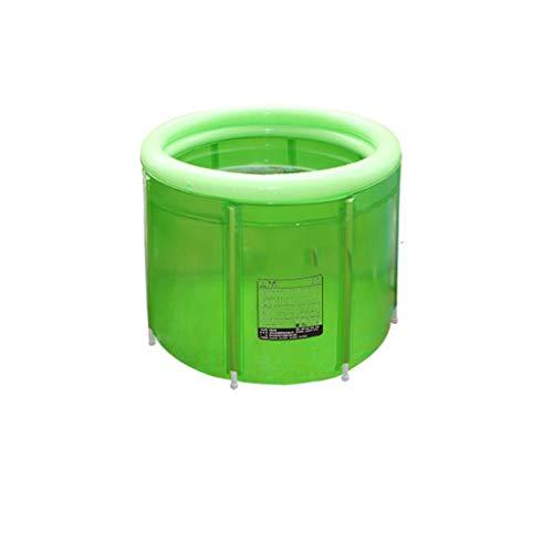 Inflatable Tube Vert Double Baignoire Gonflable Adulte Pliable Baignoire Baignoire Absant Baignoire Baignoire Gonflable Salle de Bain avec Baignoire