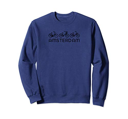 Bike Europe on Bicycle: Amsterdam Bike Sweatshirt