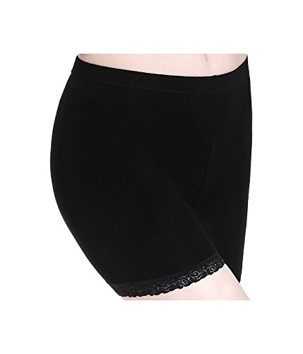 Anti Chafing Shorts Leggings Women Plus Size Under Skirts Lace Slip Short Pants