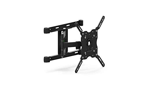 Furrion Universal Outdoor Full Motion TV Wall Mount Bracket of LED, LCD, OLED Flat Screens with VESA Up to 400x400, Tilt, Weatherproof, Heavy Duty with Up to 132 LBS Load, Built-in Horiz