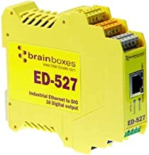 BRAINBOXES ED-527 Brainboxes ED-527 Ethernet to Digital IO 16 Outputs + RS485 Gateway, 16 Digital Outputs and a RS485 Gateway Port, Ethernet to DIO Device + Serial Gateway.