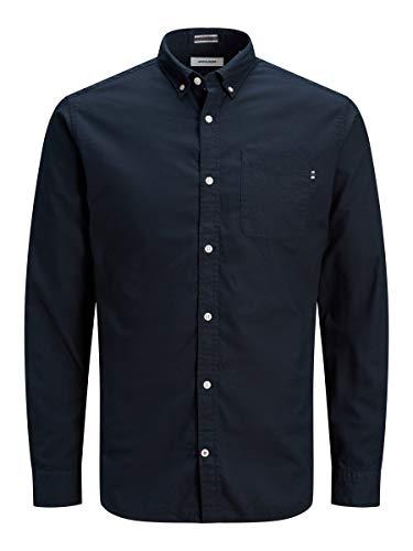 JACK & JONES Male Hemd Button-down Oxford LNavy Blazer