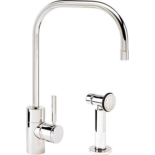Waterstone 3825-1-SS Fulton Kitchen Faucet w/Side Spray Stainless Steel