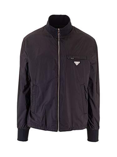 Prada Luxury Fashion Herren SGB346S201Q04F0002 Schwarz Polyamid Jacke | Frühling Sommer 20