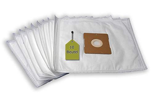 eVendix Staubsaugerbeutel passend für micromaxx MD 5891, 10 Staubbeutel + 2 Mikro-Filter + 2 Motor-Filter, kompatibel mit Swirl Y64(Y61)