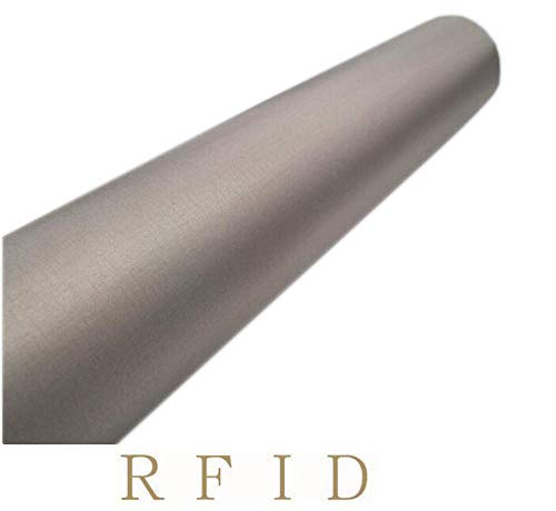 Suave toma de tierra EMF RF tejido de blindaje conductivo cobre Faraday