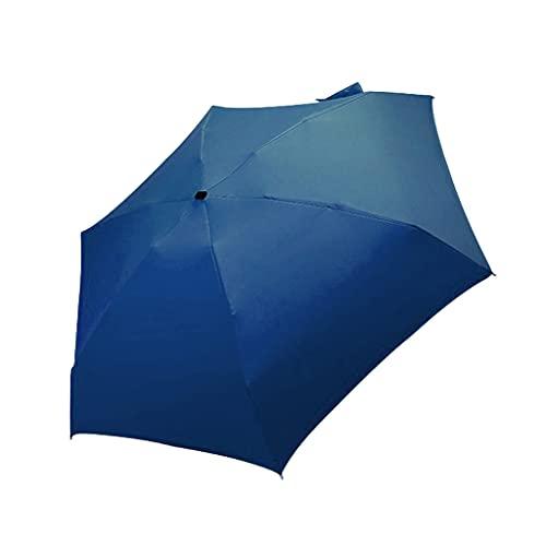 Y-POWER Mini paraguas de bolsillo diseño compacto para viajes Anti UV Sun Rain Paraguas 5 plegable a prueba de viento portátil sombrilla