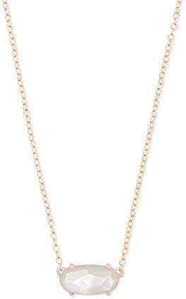 Kendra Scott Ever Short Pendant Necklace for Women Dainty Fashion Jewelry 14k Rose Gold Plated product image
