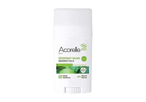 Acorelle Deodorant Balsam Zitrone & Mandarine Grüne-40g