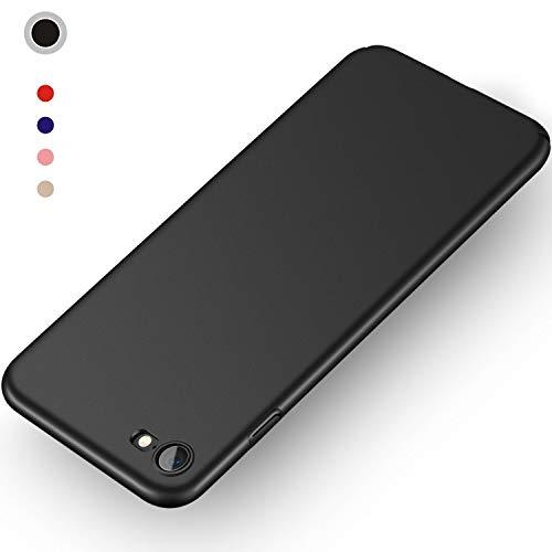 Aollop HüllefüriPhone7/iPhone8, Ultra Dünn Stoßdämpfend,Staubschutz,Anti-Kratz Schutzhülle,FederleichtHülleBumperCoverSchutztascheSchaleCasefüriPhone7/iPhone8(4.7 Zoll-Schwarz)