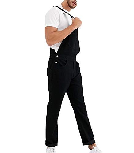 Herenmode Denim Jumpsuit Verstelbare schouderband Jeans Overalls Tuinbroek Vriendin Jumpsuit