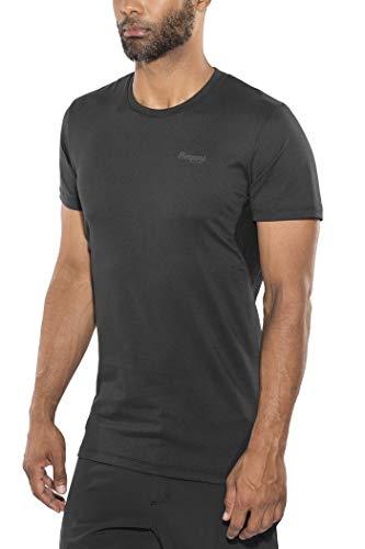 Bergans Fløyen T-Shirt Homme, Black/Solid Charcoal Modèle XXL 2020 T-Shirt Manches Courtes