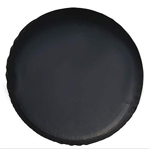 Guon-Wuvl Spare Tire Cover, Universal Fit for Jeep, Trailer,RV, SUV, Truck and Many Vehicle, Wheel Diameter 22', Weatherproof Tire Protectors (Black, 14 inch for Tire Φ 26'-27')