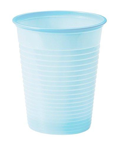 25 gobelets plastique bleu