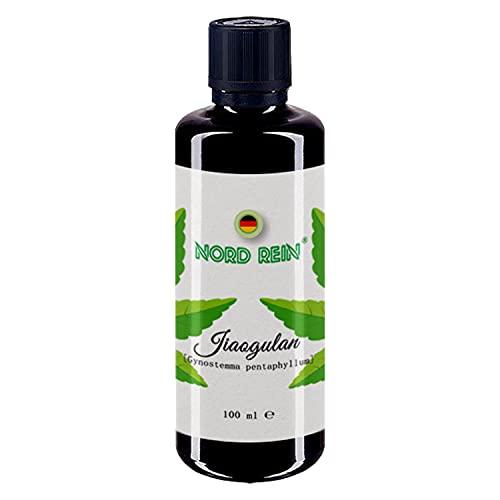 Teinture de jiaogulan, extrait hautement concentré, extrait de plante sans alcool sur base de glycérine BIO, sans additifs, 100% naturel