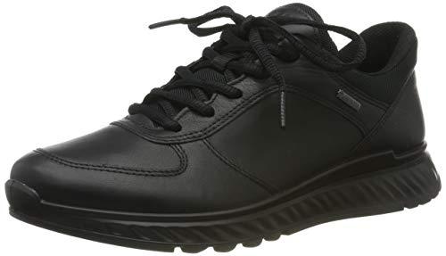 Ecco Damen EXOSTRIDEW Sneaker, Schwarz (Black 1001), 37 EU