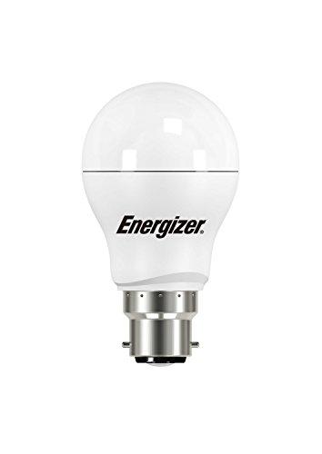 Energizer LED classique ampoule basse consommation, B22, 3,4 W, Blanc chaud